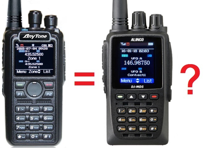 AnyTone AT-D868UV / AT-D878UV / Btech DMR-6X2 modifications