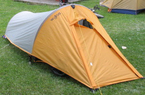 Walrus Micro Swift small tunnel tent Lake Louise Alberta Canada & Tents for Motorcycle and Bicycle Camping